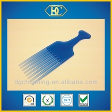 plastic fork afro hair comb