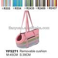 el mercado de consumo japón lindo de color rosa de tela de pet bolsa de transporte bolsa de perro con cojín extraíble
