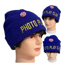 Royal Blue Color Kids Caps