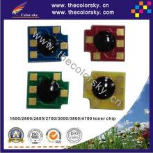(CZ-UH3800U) laser printer toner reset chip for HP Q6470a 6470a 6470 Q7581A - 7583A Q7581 7581A 7581 laserjet 3800 HP7581 bkcmy