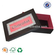 paper chocolate box pattern made by custom