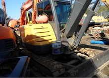 Excavator Volvo EC55C backhoe used