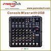 Professional studio audio mixer with USB