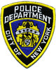 Police Department City of New York Embroidered Patch