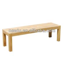 teak wood park bench FSC approved