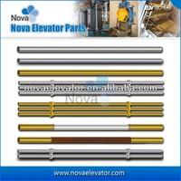 Hairline Stainless Steel Lift Cabin Handrail, Elevator Handrail for Passenger Lifts