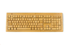 2.4G wireless bamboo keyboard(3 key pads) - hp laptop backlit keyboard