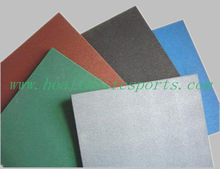 rubber flooring colorful mat