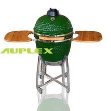 China ceramic kamado grill leg of lamb recipe barbecue black bbq wholesales