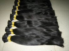 2014 hot sale Asia virgin hair , Natrual color unprocessed virgin human hai
