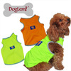 Breathable Summer Dog Vest High Visivable Neon Color Dog Apparel Puppy Cloth