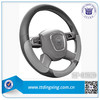 New design fashion fabric and pvc material auto steering wheel cover best steering wheel cover