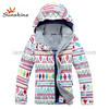Beauty Colourful women's snow ski snow jacket softshell