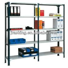 Hot selling warehouse storage powder-coating beam and uright double rivet L beam racking system shelf