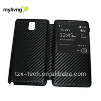 flip cover for samsung galaxy note3 mobile phone accessories battery case
