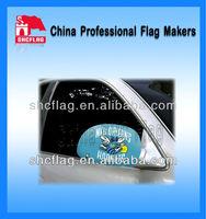 NO MOQ german car wing mirror cover flag custom design