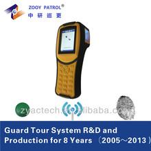 GPRS GSM Fingerprint Scanner Guard Tour System