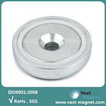 Permanent sintered neodymium holding magnets