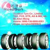 Roadsun brand colored car tires