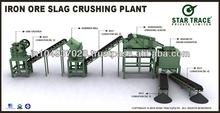 Iron Ore Slag Crushing Plant