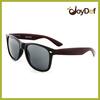 Cheap Promotion Matte Black&Red Dark Lens Wayfarer Suanglasses UV400 Protection