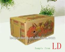 3 layers or 5 layers customized fruit carton box