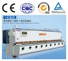EURO Design QC11K 8x3200mm Hydraulic Sheet Metal Plate Guillotine Shear Machine, mechanical shearing machine
