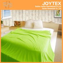 100% polyester super soft and warm home textile fleece blanket custom plain