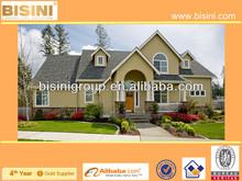 (BY11-0045)European style Prefabricated Villa Design, BISINI Light Prefab Steel Villa, Prefab House