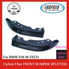 E46 M TECH carbon fiber Front bumper splitter for BMW
