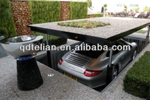 Underground type Two layers Parking Lift for 2 car