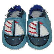 soft sole baby shoes - Krabbelschuhe - UMS Sailing Boat