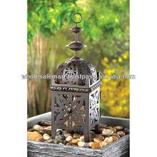 Wholesale Metal Morrocan Style Lantern Candle Lantern