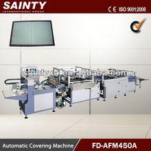 Advanced semi-automatic book cover making machine
