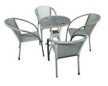 Imitation Rattan chair / wicker chairs /Garden chairs --- Qui Phuc, QP-1512
