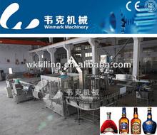 Automatic Wine/ Whisky/ Brandy/Vodka bottling machine