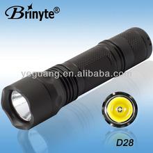 26.5mm Lamp Assembiles CREE LED Aluminum IP66 Waterproof Flash Light