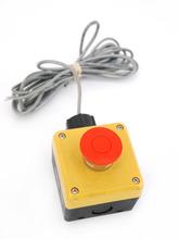 Idec FB Control Box Type 4X IP65 Pushbutton Switch Emergency Shutoff FB1W-HW4B