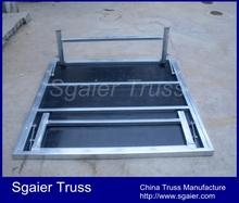 Folding steel podium for sale wedding podium for sale