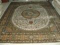 البساط الفارسي السجاد الايراني 8x10 أنماط عربية السجاد اليد التي قدمت السجاد الحرير
