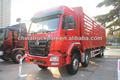 Sinotruk hohan- j5g camión de carga las dimensiones/310hp/camiones de servicio pesado