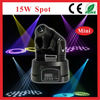 CE RoHS/15W LED spot lighting/Led movinghead Gobo