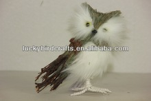 owl ,made of natural material/christmas ornament/handemade/supplier