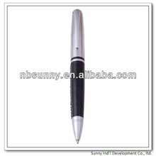 metal leather ball pen