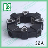 22A Rubber Hydraulic pump motor couplings