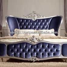 Wooden Baroque Bed BKB-08
