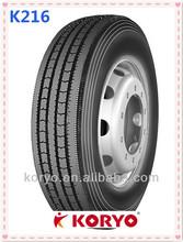 2014 hot selling KORYO/longmarch brand 11R22.5 -16PR LM 216 china truck tire