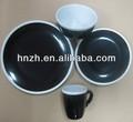 in ceramica nera stoviglie riciclabili