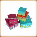 venta al por mayor personalizado impreso decorativos de lujo de china reciclado de color hecho a mano vacía de regalo cajas de papel