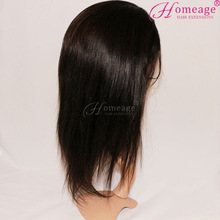 homeage Wholesale Top Quality 100% Virgin Human peruvian hair lace wig